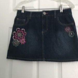 Circo jeans girl  skirt  Sz XL